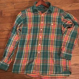 Vintage Polo Flannel